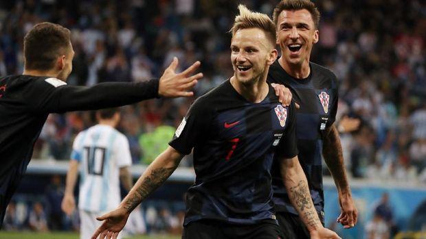 Ivan Rakitic dan Luka Modric menjadi andalan Kroasia di lini tengah.