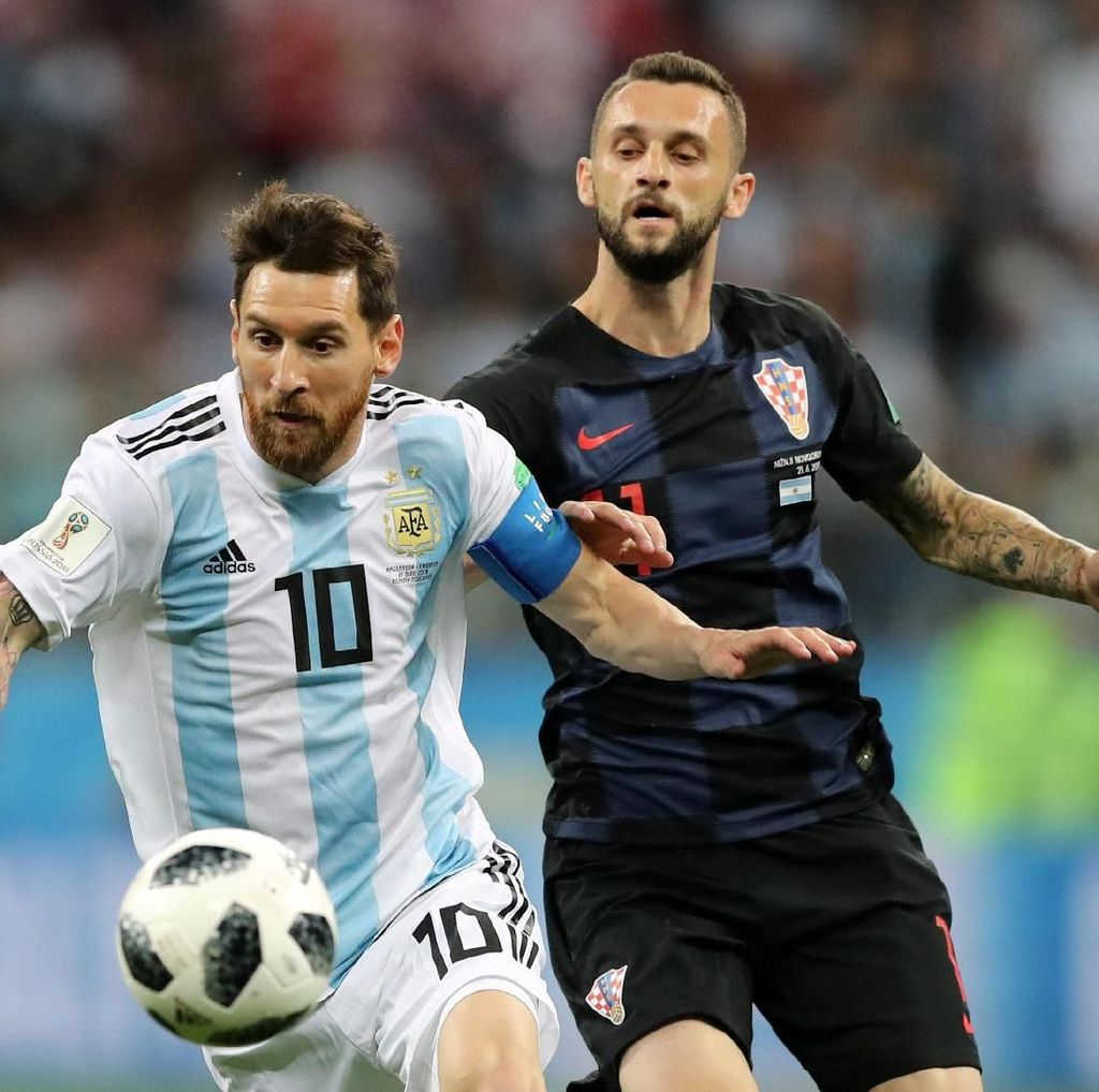 Argentina Vs Kroasia Masih 0-0 di Babak Pertama