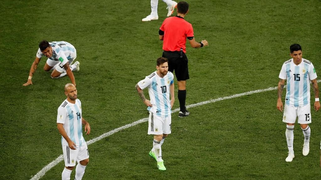 Balas Komentar Sampaoli, Bek Kroasia Sebut Argentina Cengeng