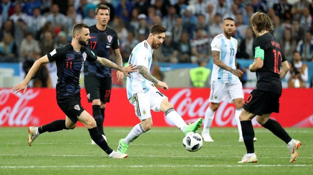 Video Highlights Babak I Argentina Vs Kroasia
