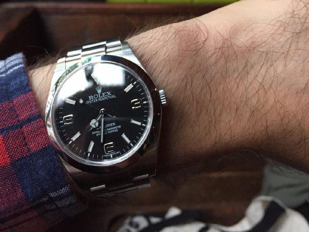 Ini Rasanya Pakai Jam Rolex Rp 84 Juta Selama Sebulan