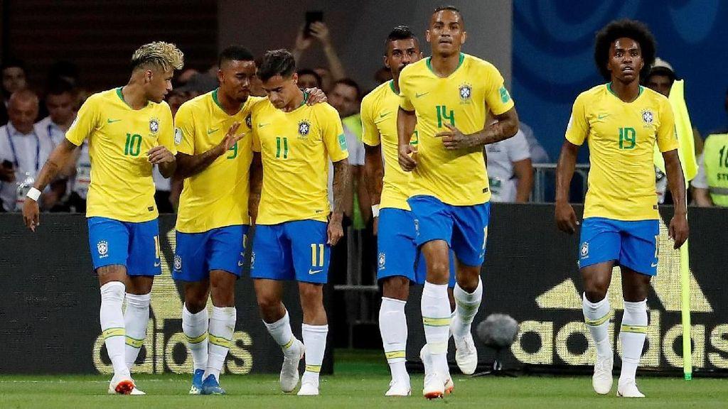 Mantapnya Brasil dalam Catatan Pertemuan dengan Kosta Rika