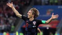 Puja-puji untuk Modric dan Dongeng Timnas Kroasia