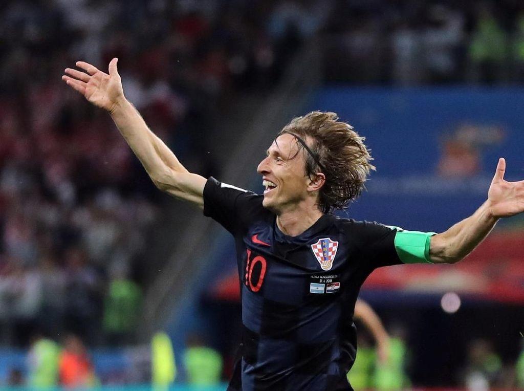 Mobil Mewah Luka Modric, Pencetak Gol Cantik ke Gawang Argentina