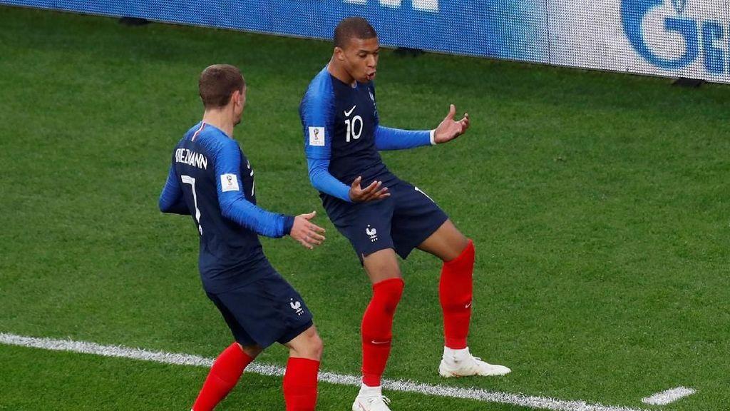 Mbappe Antar Prancis ke Babak 16 Besar Piala Dunia