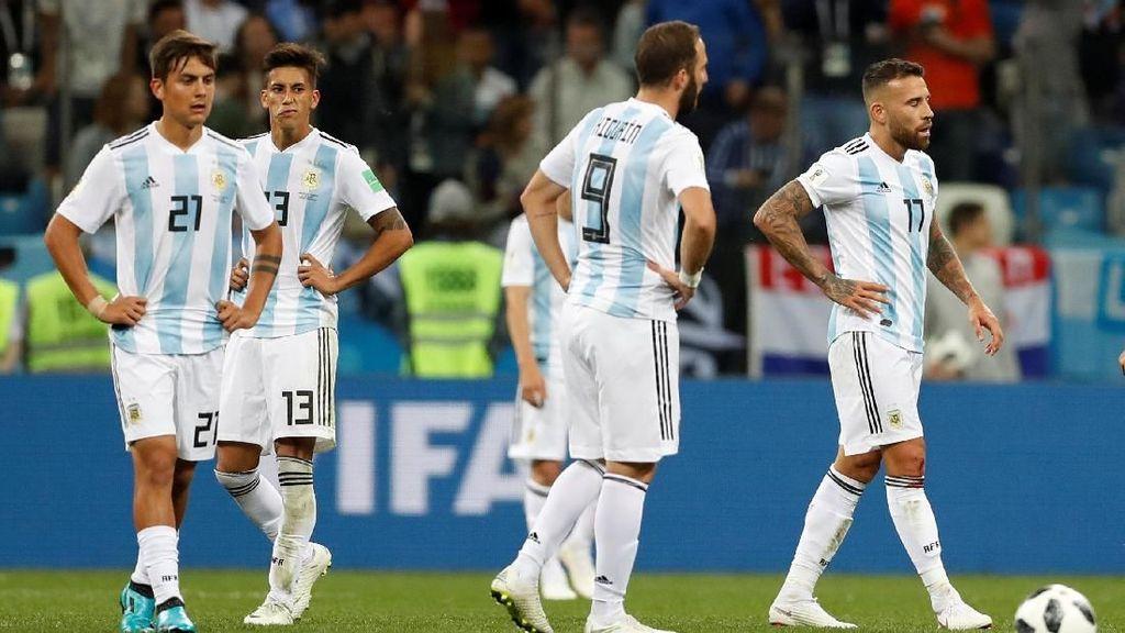 TV Argentina Ini Heningkan Cipta Usai Messi cs Digasak Kroasia