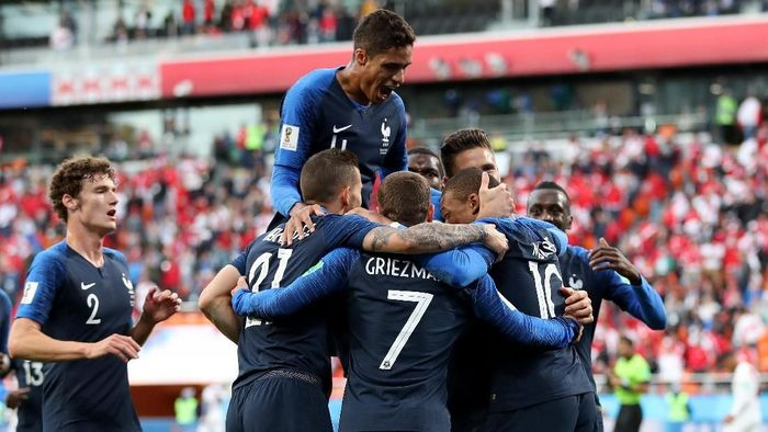 Prancis ingin hindari Kroasia di babak 16 besar Piala Dunia 2018. (Foto: Catherine Ivill/Getty Images)