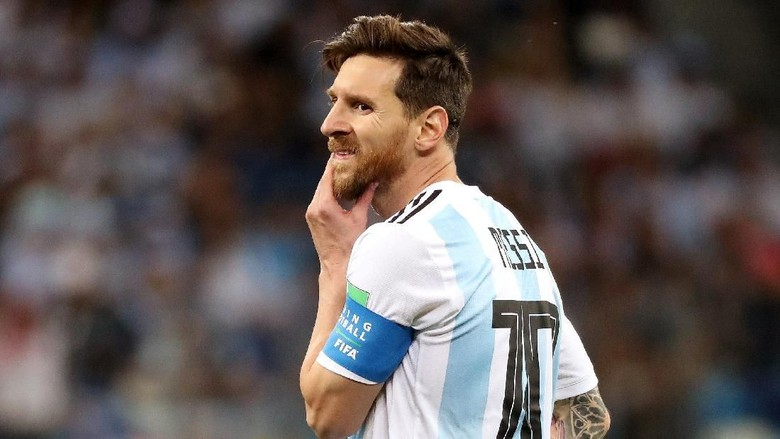 Tak Semestinya Messi Dihujani Kritik