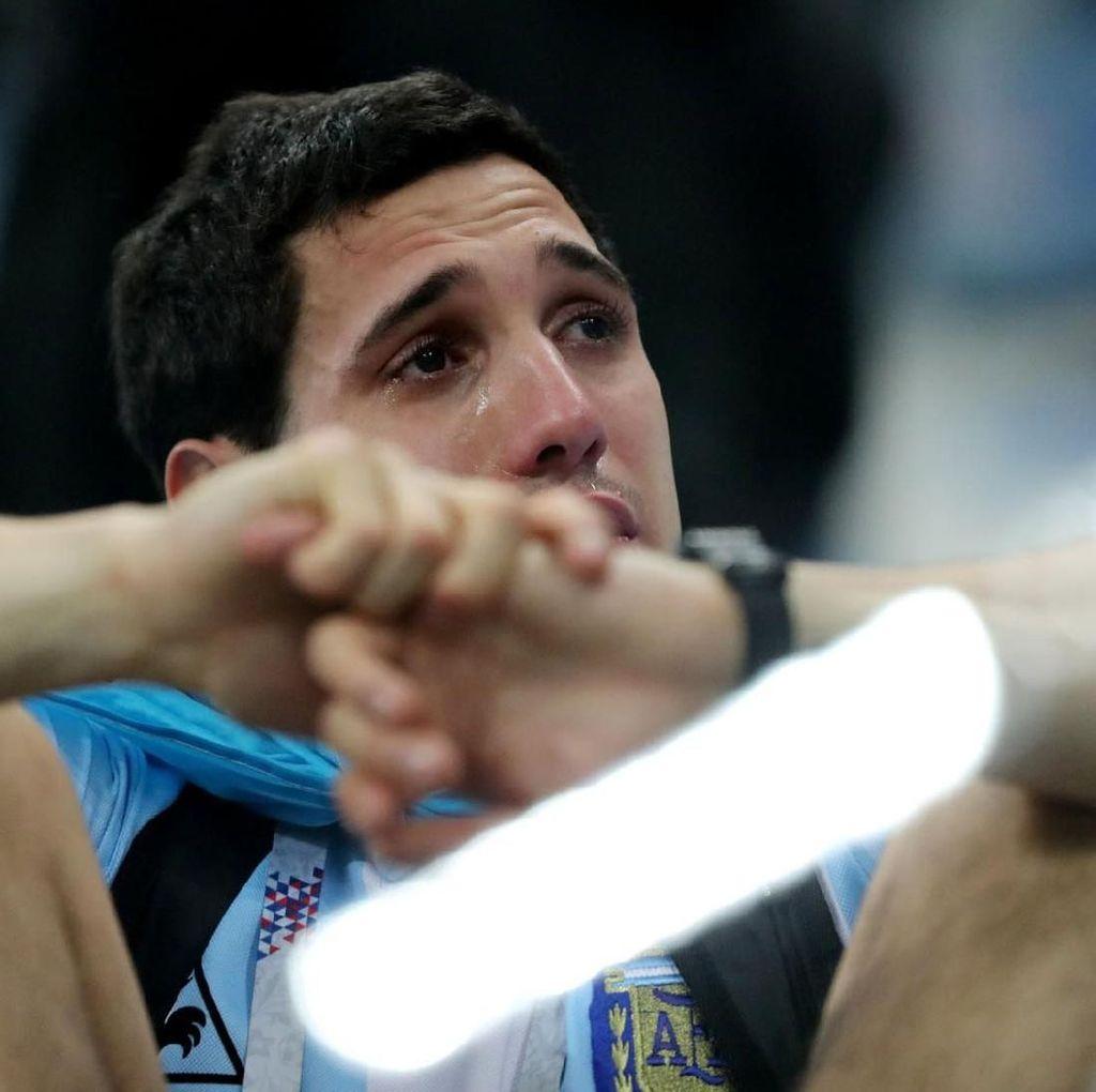 Wajah-wajah Sedih Suporter Argentina