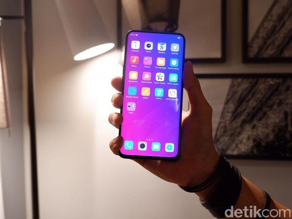 Layar Find X Sama Seperti Galaxy S9