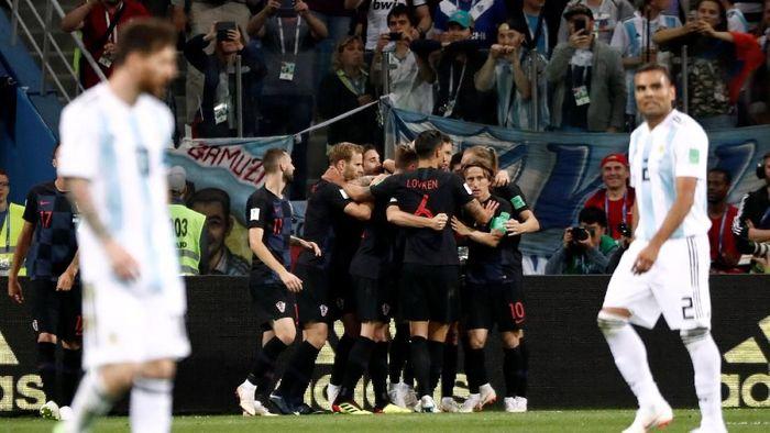 Kroasia mengalahkan Argentina 3-0. (Foto: Murad Sezer/Reuters)