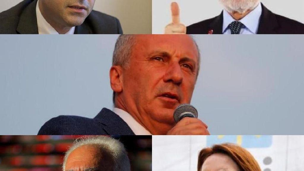 Foto: 5 Penantang Erdogan di Pilpres Turki