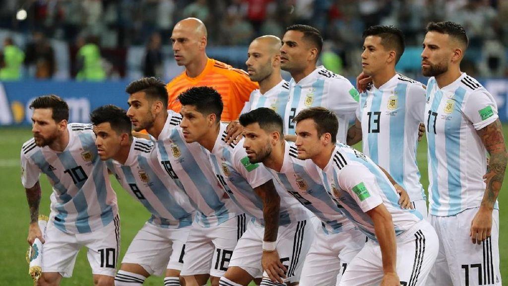 Gambaran Terkini Peluang Argentina di Piala Dunia 2018