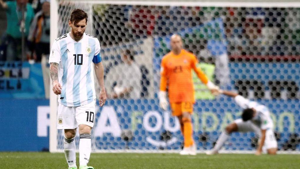 Video 3 Gol Kroasia yang Menyengsarakan Argentina