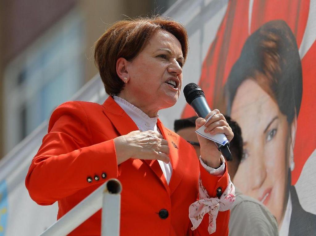 Foto: Meral Aksener, Satu-satunya Wanita Penantang Erdogan