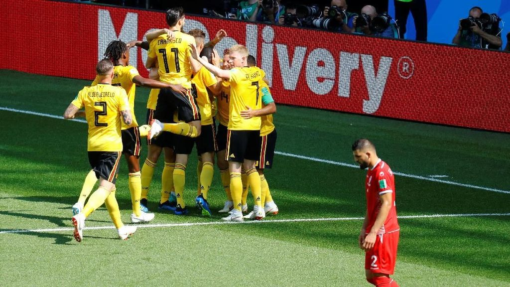 Video Highlights Babak I Belgia vs Tunisia