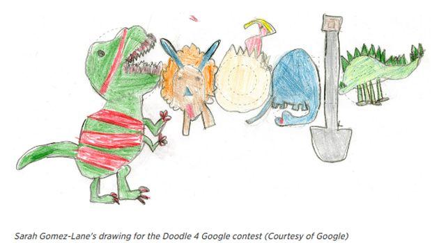 Kisah Coretan Bocah Kelas 1 SD yang Memenangkan Kontes dari Google/