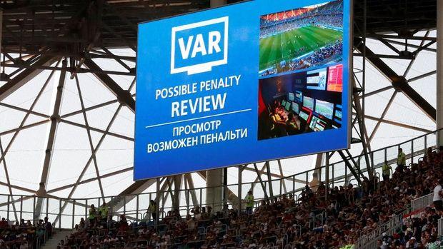 Cara FIFA Jaga Transparansi Sistem VAR di Piala Dunia 2018