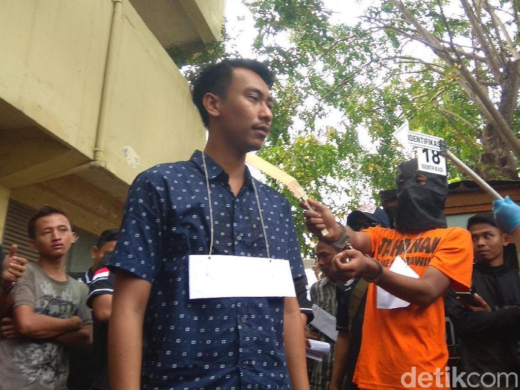 Tebasan Gergaji Maut Beler Tewaskan Remaja Karawang