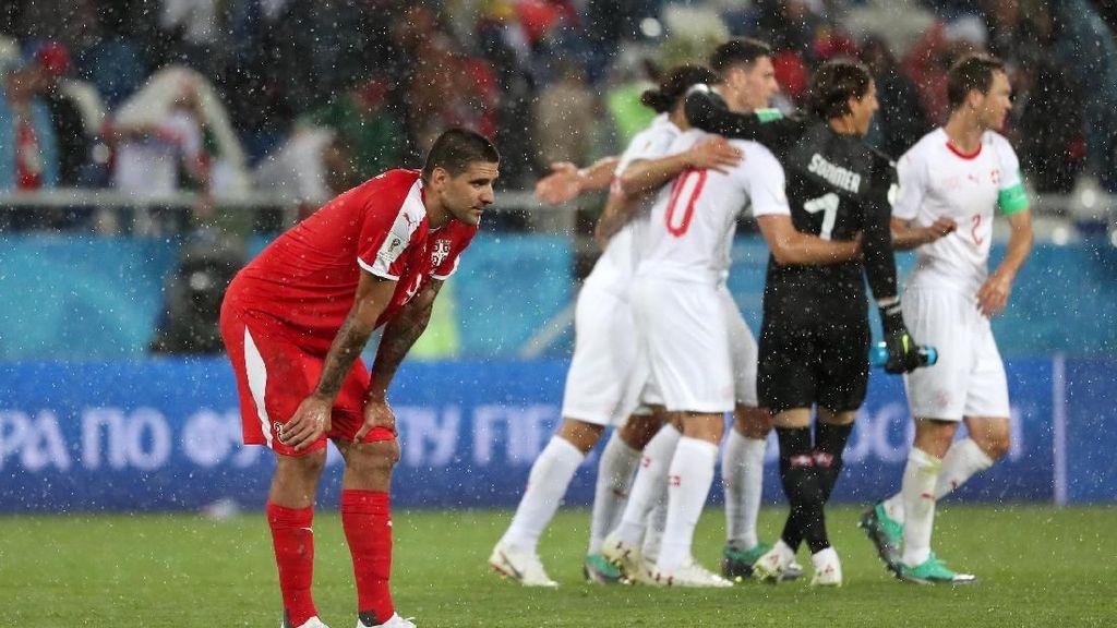 Hasil Pertandingan Piala Dunia 2018: Serbia vs Swiss Skor 1-2