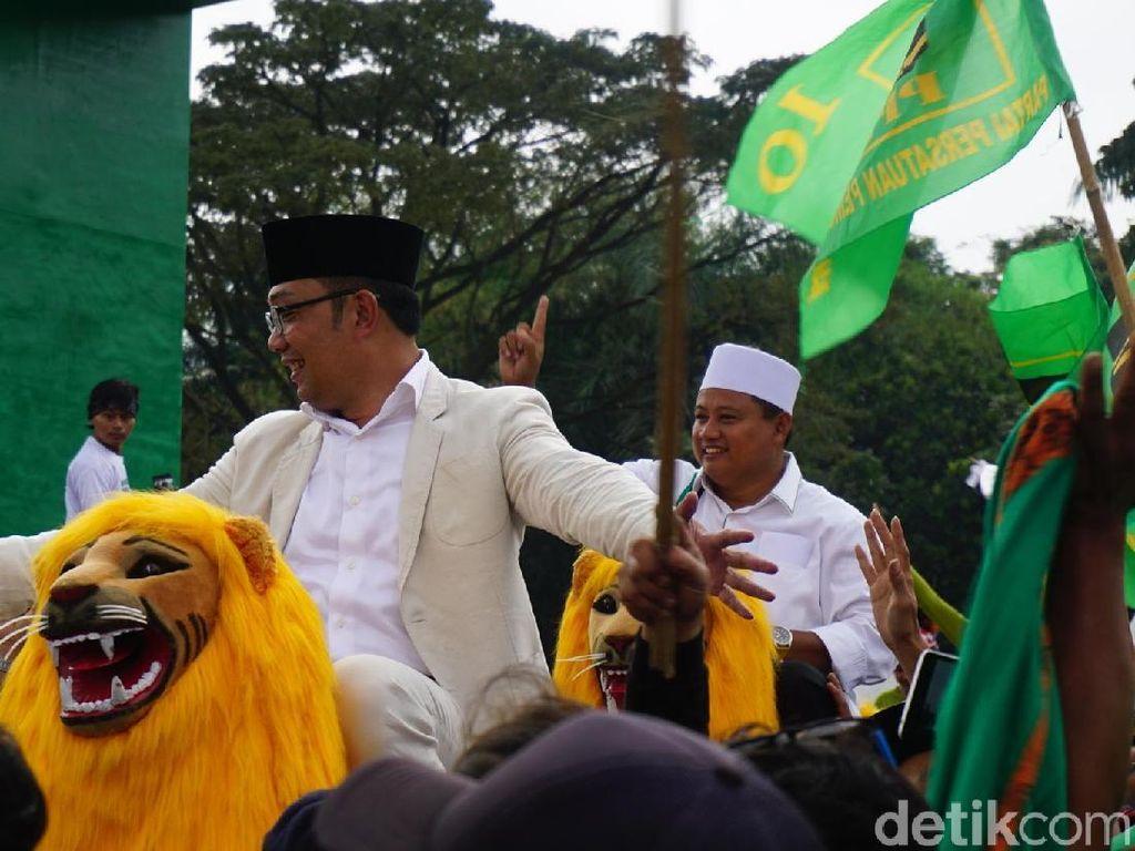 Menang di Pilgub Jabar, Ridwan Kamil-Uu Kuasai 14 Daerah
