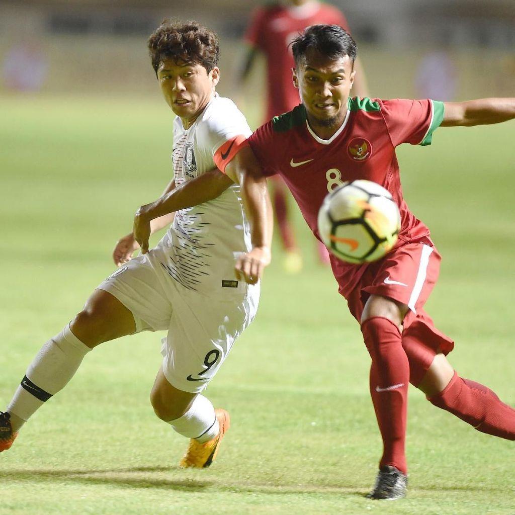 Laga Uji Coba Timnas U-23: Indonesia Kalah 1-2 dari Korsel
