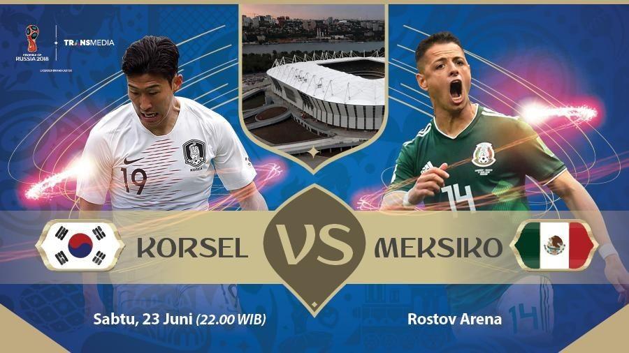 Live Report Piala Dunia 2018: Korea Selatan vs Meksiko