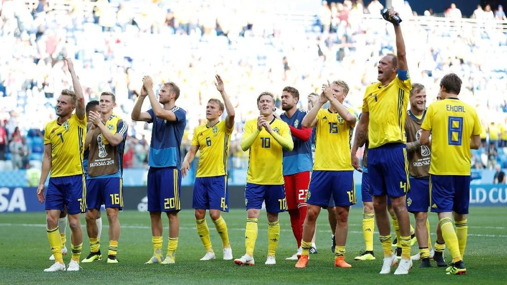 Berpotensi Singkirkan Jerman, Swedia Tak Boleh Terlalu Pede