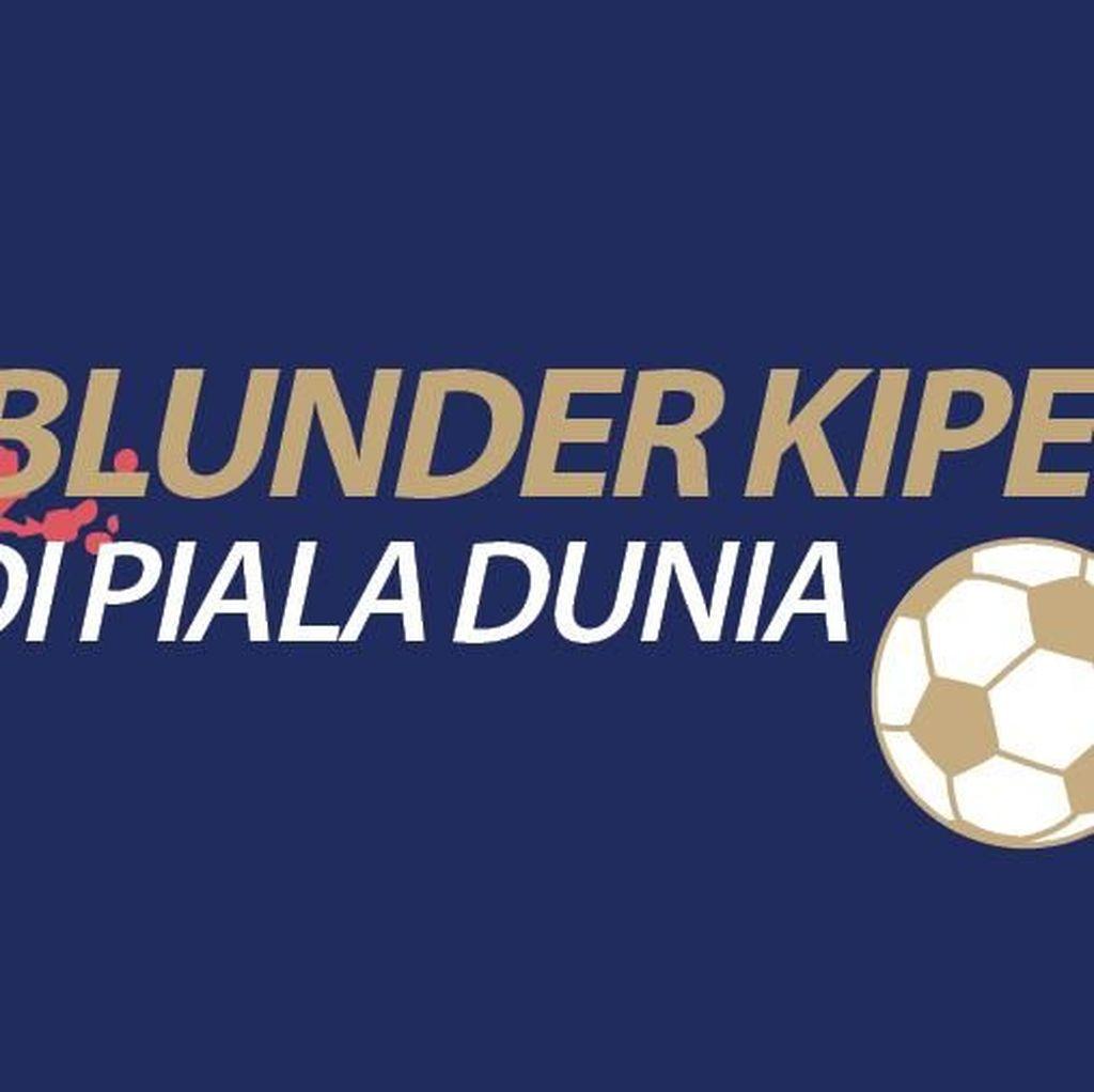 5 Blunder Kiper di Piala Dunia