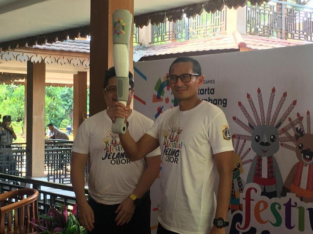 Siap-siap, Replika Obor Asian Games Bakal Keliling Kampung di Jakarta