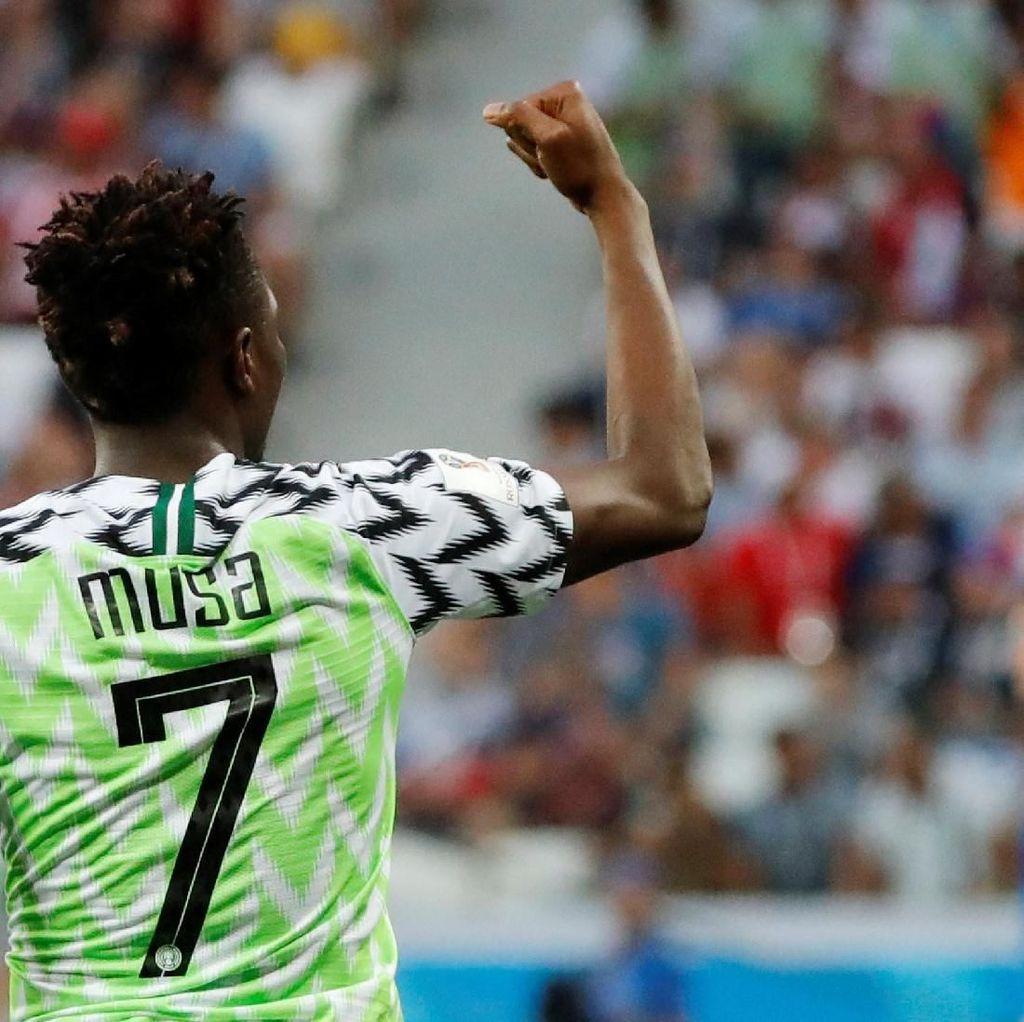 Ahmed Musa Pede Bisa Kembali Jebol Gawang Timnya Messi