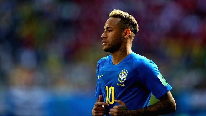 Brasil punya ekspektasi besar terhadap Neymar di fase gugur Piala Dunia 2018 (Foto: Francois Nel/Getty Images)