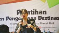 Ketua Tim Percepatan Pembangunan Pariwisata Pedesaan dan Perkotaan Kementerian Pariwisata, Vitria Ariani (dok Istimewa)