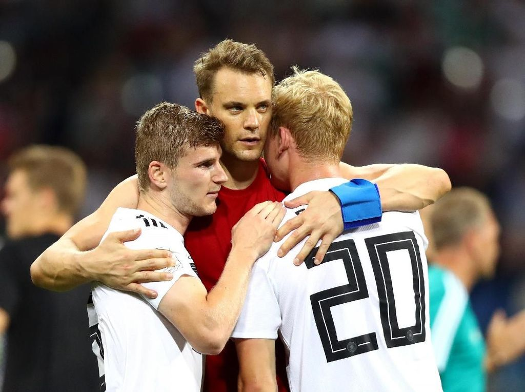 Argentina Sudah Lolos, Giliran Jerman dan Brasil Hadapi Laga Hidup-Mati