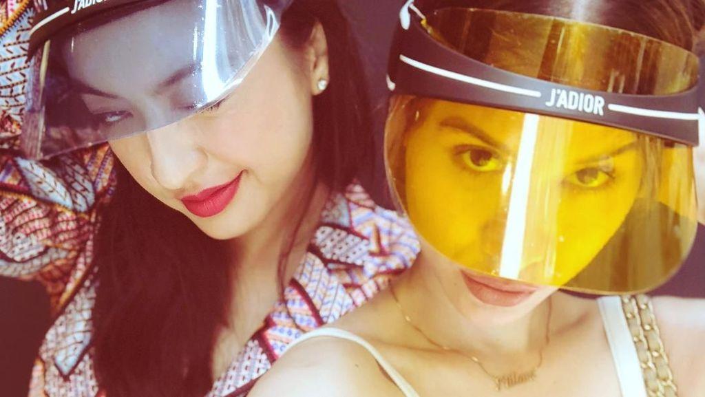 Friendship Goals! Kompaknya Raline Shah dan Millane Fernandez