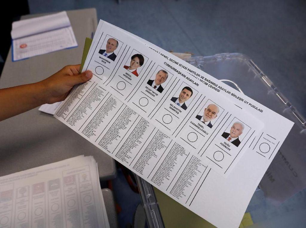 Sederet Larangan Saat Pemilu Turki