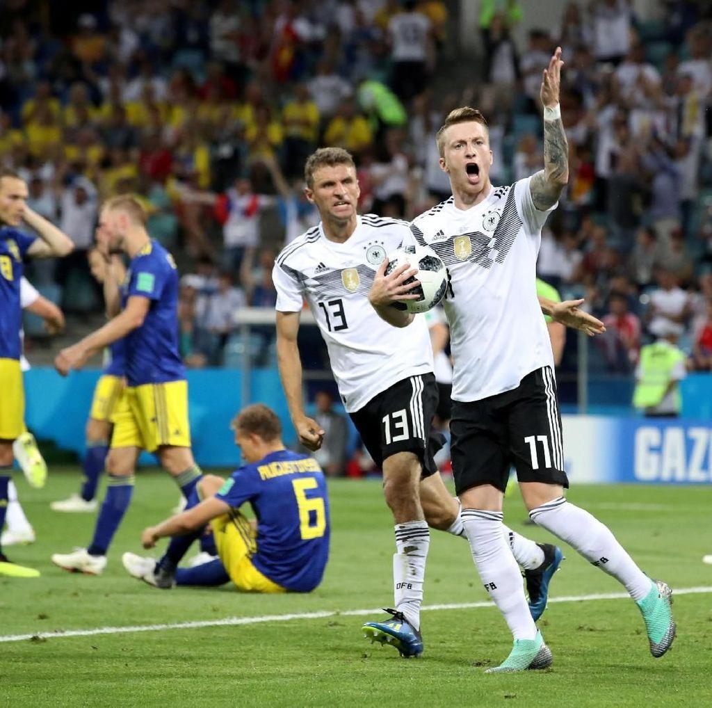 Menang Dramatis, Jerman Dituding Ejek Swedia
