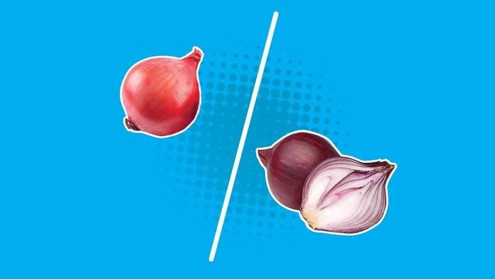 Begini Nih Perbedaan Bawang Merah Palsu dan yang Asli