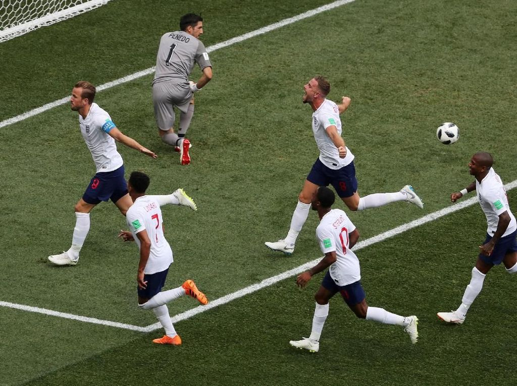 Video Inggris lolos ke 16 Besar Usai Pesta Gol ke Gawang Panama