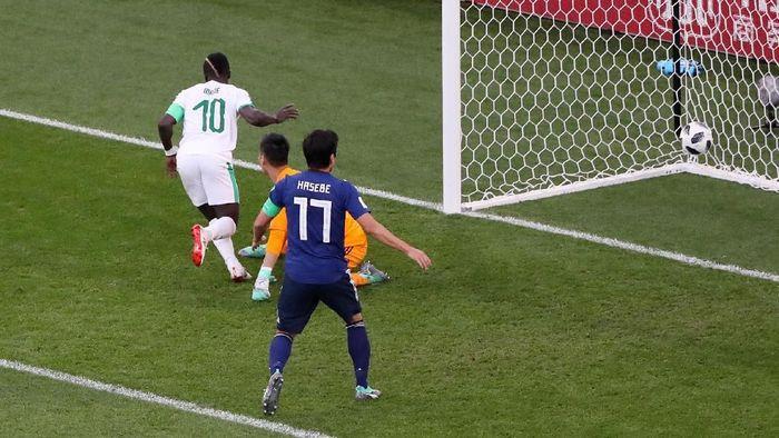 Jepang vs Senegal berimbang 1-1 di babak pertama. (Foto: Marcos Brindicci/Reuters)