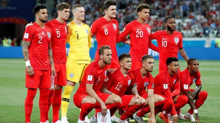 Inggris akan melawan Panama di laga keduanya di Piala Dunia 2018 (Foto: Toru Hanai/Reuters)