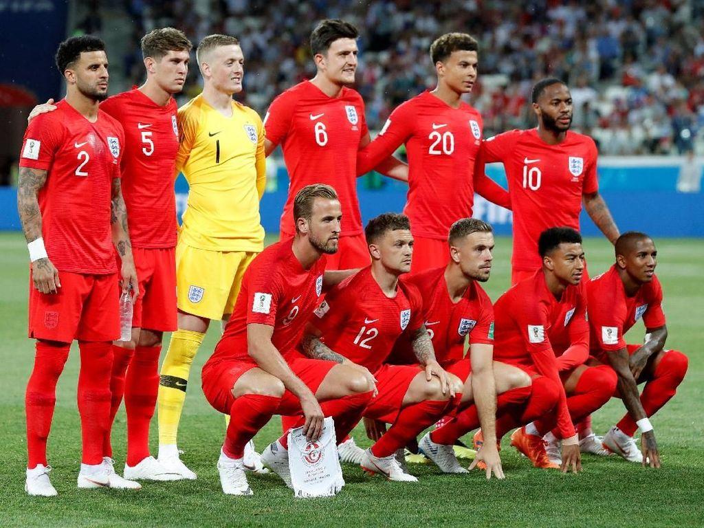 Jadwal Piala Dunia 2018 Hari Ini: Inggris vs Panama