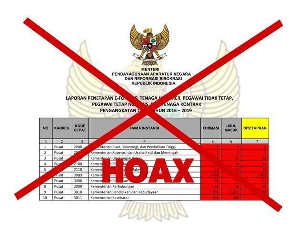 Hati-hati Banyak Lowongan CPNS Hoax