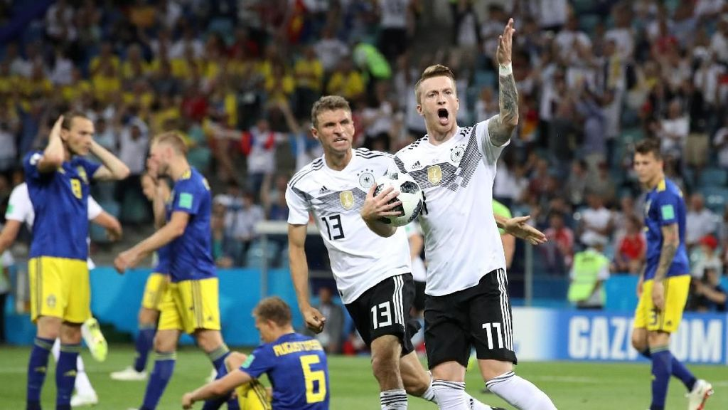 Video Highlights: Jerman Vs Swedia 2-1