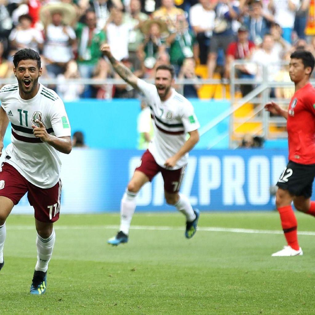 Korsel vs Meksiko: El Tri Perpanjang Rekor