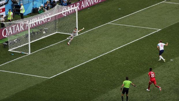 Separuh gol Harry Kane di Piala Dunia berasal dari tendangan penalti.