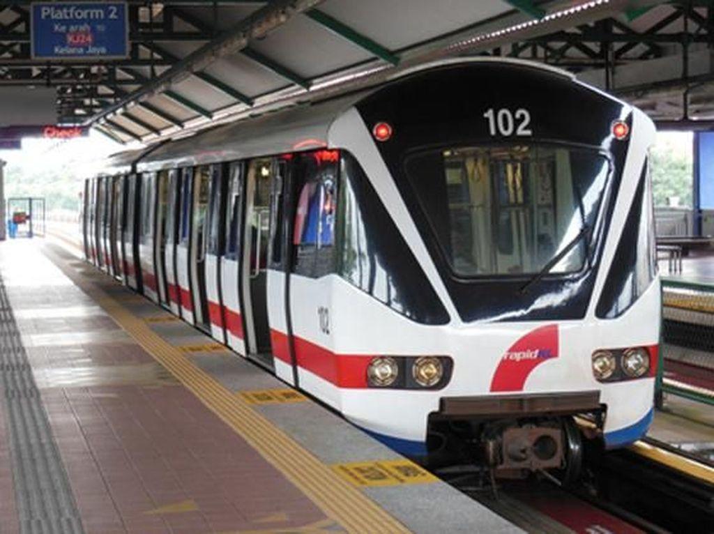 Mengintip Penampakan LRT Kelana Jaya di Malaysia