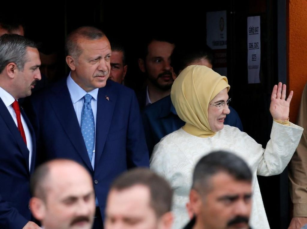 Menang Pemilu, Erdogan: Turki Beri Pelajaran Demokrasi ke Dunia