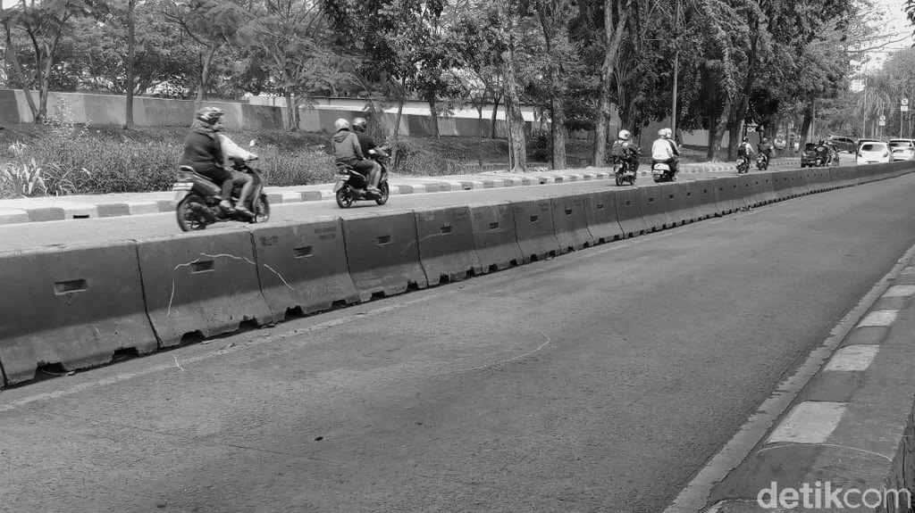 Foto: Ini Lokasi Wanita Lompat dari Angkot Karena Takut Ditodong