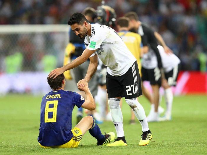 Jerman menang dramatis atas Swedia 2-1. (Foto: Dean Mouhtaropoulos/Getty Images)